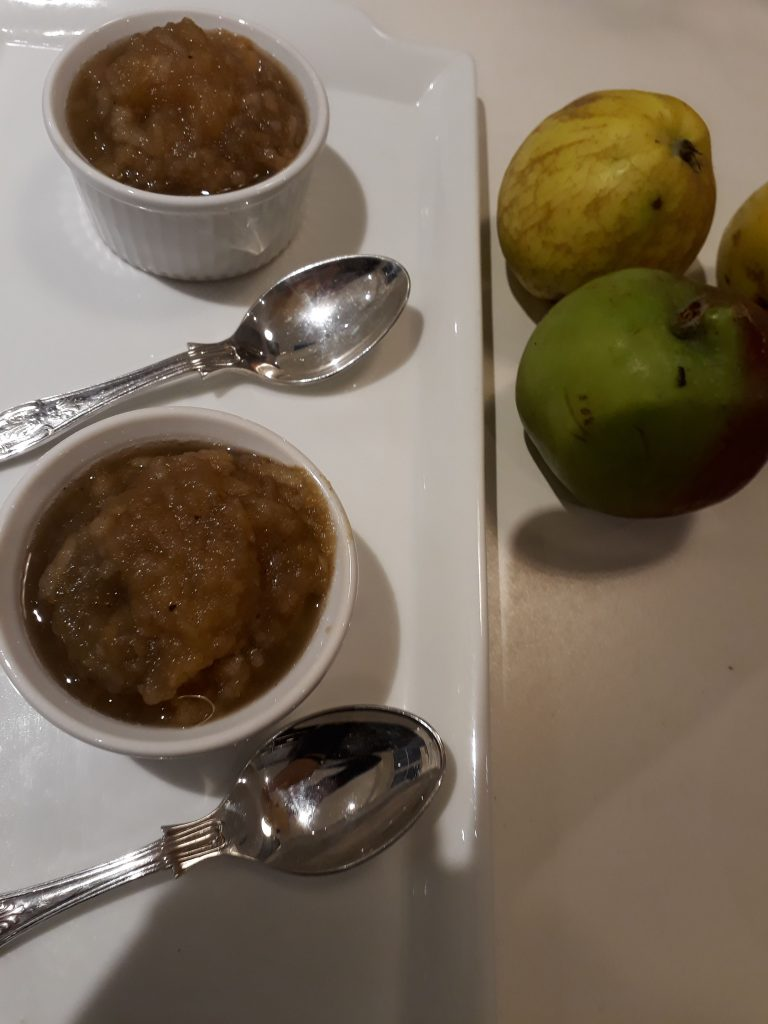 Apple immune-booster dessert (aka stewed apple!)
